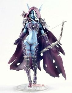 Action Figure DC Unlimited World of Warcraft Series 6 forsaken Queen Sylvanas Windrunner Action Figure #Brinquedos #ActionFigure