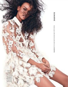 FAB Editorial: More Pictures From Liya Kebede For Elle France February 2014