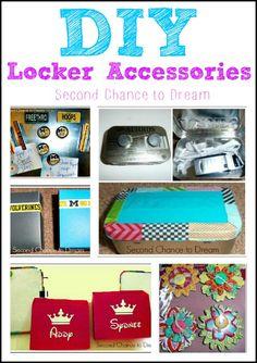 DIY Locker Accessories