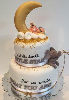 Twinkle Twinkle Little Star Baby Cake