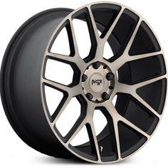 Niche Intake M159 Black and Machined w/ Dark Tint Wheels & Rims