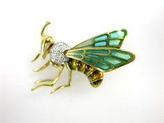 Fly Brooch