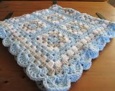 Image result for crochet baby quilt
