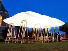 inflatable canopy, dutch pavillion,Inflatable pavilion, Allerzielen Alom, Allerzielen, Overtreders W