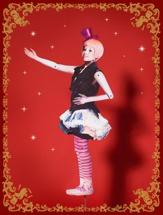 "MAJOLICA MAJORCA 2012 Winter ""Circus Ecstacy"" Visual / マジョリカ マジョルカ 2012年 冬 ""Circus Ecstacy"" ビジュアル"