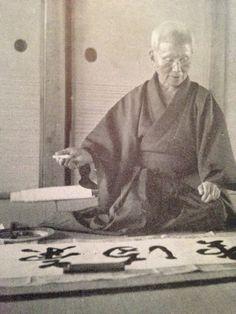 Sensei Gichin Funakoshi... Martial arts masters and gurus