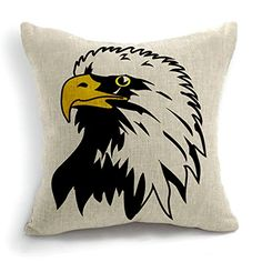 Animal Style Eagle Sofa Simple Home Decor Design Throw Pi...