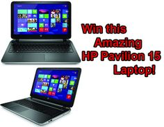 Red Ferret Giveaway 6 - win a superb HP Pavilion 15 Laptop Computer [Giveaway]