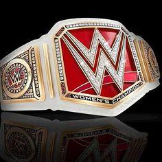 The new WWE Women's championship belt