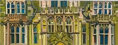 Giclee prints of Brasenose College by dorothy megaw