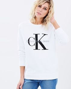 Buy Vintage Logo Sweatshirt by Calvin Klein Jeans online at THE ICONIC. Free and fast delivery to Australia and New Zealand.