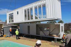 Maison container - Vue extérieure