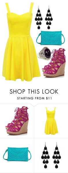 Mix & Match: Summer Outfit #43 by mscody on Polyvore featuring Steve Madden, Street Level, Forever New, summerstyle and summerfashion