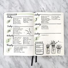Find images and videos about journal, bullet journal and bujo on We Heart It - the app to get lost in what you love. Bullet Journal Banners, Planner Bullet Journal, Bullet Journal Spreads, March Bullet Journal, Bullet Journal Weekly Layout, Bullet Journal Inspo, Junk Journal, Journal Guide, Journal Pages