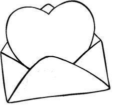 Dibujos para colorear de San Valentín e imprimir - Imagui