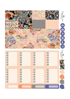 WANDER Deluxe Kit//Weekly Planner Sticker by PaperCrownPrintsCo