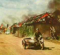 Operation Barbarossa in color, invasion into USSR