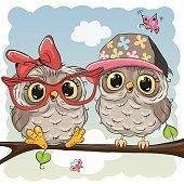 Collection of different vector image gift cards with funny cartoon animals Cute Owl Cartoon, Cartoon Owl Drawing, Cute Owl Drawing, Cartoon Mignon, Art Mignon, Owl Vector, Whimsical Owl, Paper Owls, Owl Pictures