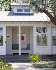 LOVE!  Modern farmhouse