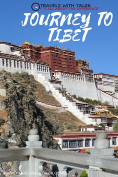 Tibet has beautiful mountains and nature sights, rich history, and amazing food. #Tibet #architecture #travel #trip #visit