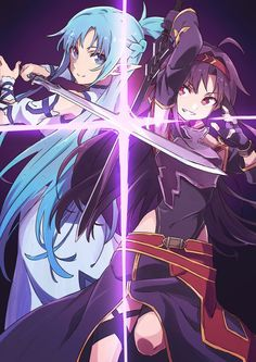 Imágenes SAO 2 - Asuna and yuuki - Wattpad