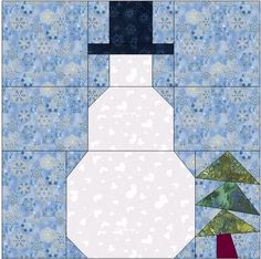 The Perfect Snowman Pattern In PDF for Snowman Week!