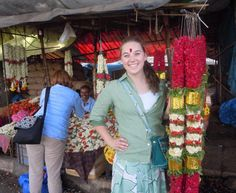 Study Abroad India - King's College student Nicole Lawler
