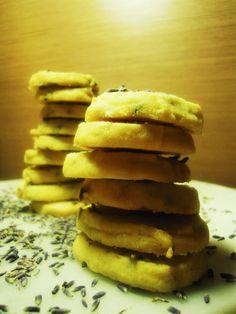 Lavendel koekjes!