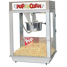 Price: $2666.69 - http://bit.ly/2kx0vVa - Gold Medal 2102E Deluxe Citation - Item must ship palatalized on LTL. Popcorn Maker, Pop Popcorn, Best Popcorn, Healthy Popcorn, Food Service Equipment, Party Items, Popcorn Machine For Sale, Popcorn Machines, Snow Cone Machine