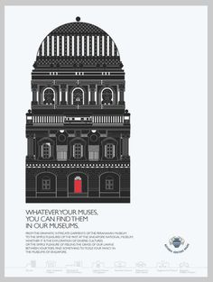 Artwork for the Singapore National Heritage Board advertisement for Monocle Magazine(by Louis Lam)