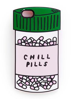Chill Pills Silicone IPhone Case 6/6s