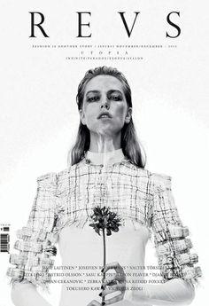 Hellen van Rees press clipping REVS #fashion #editorial #fashioneditorial #hellenvanrees