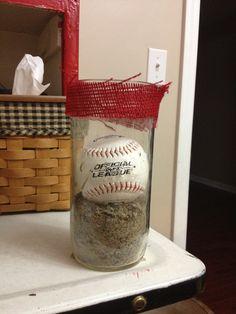 Baseball Wedding Reception Decoration