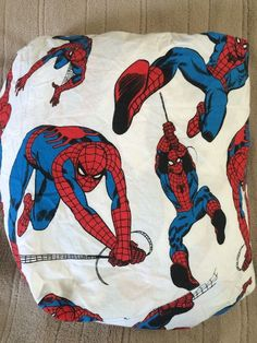 Pottery Barn Kids Spiderman Twin Size Fitted Sheet #PotteryBarnKids