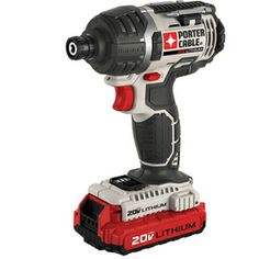 PORTER-CABLE�20-Volt 1/4-in Hex Drive Cordless Variable Speed Impact Driver