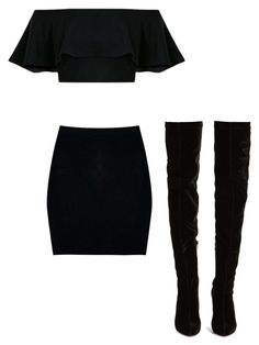 """""""Untitled #109"""" by hilal-arslan on Polyvore featuring Boohoo and Christian Louboutin"""