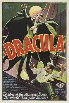 10 carteles clásicos de películas de terror.