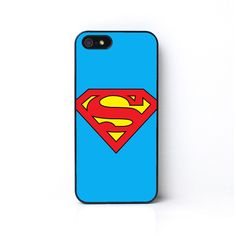Superman Case - Superhero - iPhone 4 - iPhone 5 - iPhone 5C - iPhone 6... ($17) ❤ liked on Polyvore