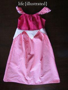 life {illustrated}: Disney Princess Dresses pattern