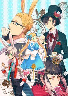 Tales of Xillia 2 X Alice in Wonderland ?