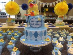 Rubber Ducky Baby Shower Ideas | Rubber Ducky Baby Shower | Party ideas