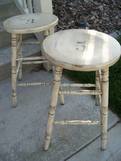 Awesome How to Paint Wooden Bar Stools