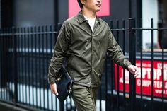 See the best men's street style looks captured at London Men's Collections S/S 2017...