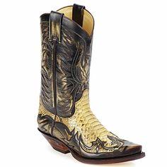 Botas Sendra boots JOHNNY Castanho / Bege 350x350