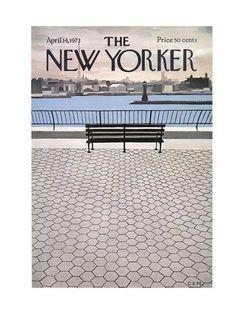 The New Yorker Cover - April 14, 1973 Giclée-Druck von Charles E. Martin bei AllPosters.de