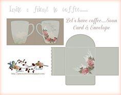 Invitation to Coffee by GlendasWorld on Etsy