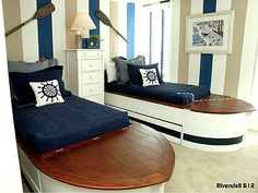 Click beds to site for beach house ideas