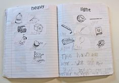 Kindergarten Kindergarten: Math Problem-Solving notebooks
