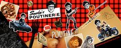 Smokes Poutinerie in-store mural design (80s theme) by Denny Kurien