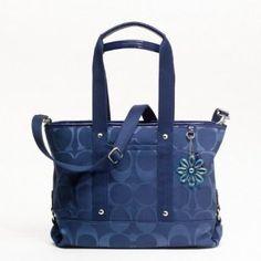 dark blue purse